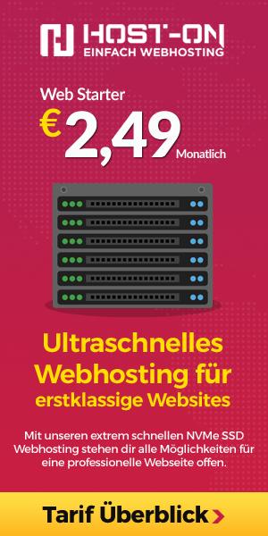 Host-On.de Advertisement